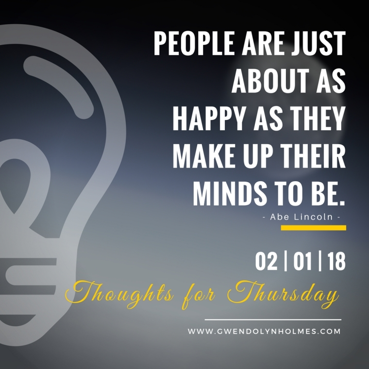 Thoughts for Thursday